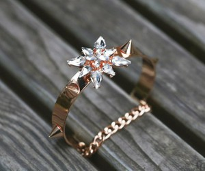 ring, snow, and cute image