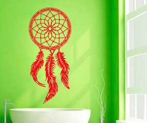 dream catchers, indian amulets, and dream catcher wall decals image