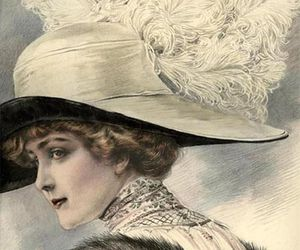 edwardian and wide hat image