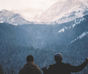 goals, scenery, and mountains image