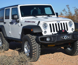 jeep, white, and rubicon image