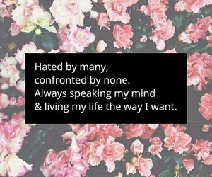 flowers, hate, and life image