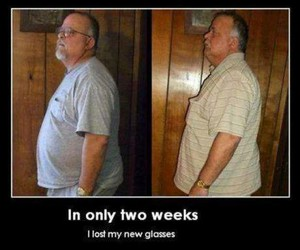 glasses, funny, and lol image