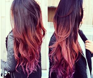 beautiful, brown hair, and hair image