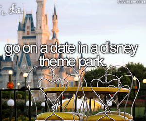 disney, date, and disneyland image