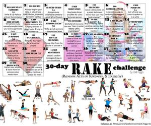 challenge, exercise, and happy image