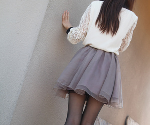 class, black tights, and fashion image