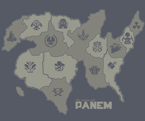 panem, district, and the hunger games image