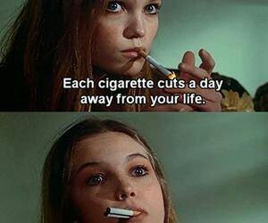 cigarette, life, and cool image