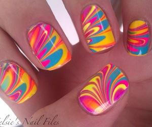 nails, colors, and nail polish image