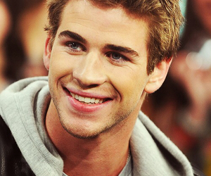 liam hemsworth, smile, and liam image