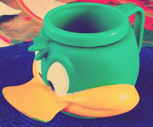 cup and duck image