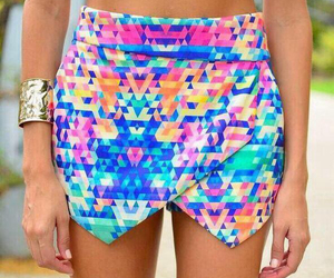 multicolored and skirt image