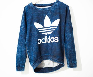 adidas, clothes, and blue image