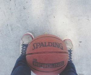 basket, Basketball, and Fila image