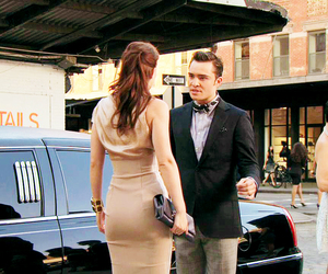 blake lively, chuck bass, and cool image