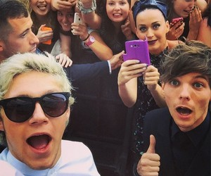 katy perry, niall horan, and louis tomlinson image