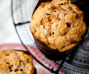 food, muffin, and muffins image