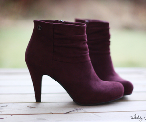 burgundy, ootd, and fashion image
