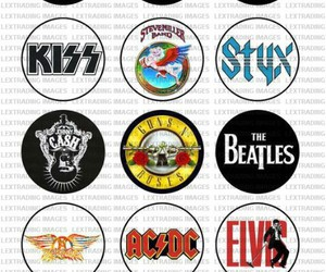 ACDC, Guns N Roses, and rock image