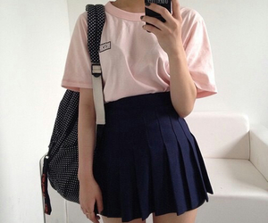 skirt, outfit, and style image