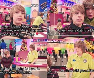 funny, dylan sprouse, and cole sprouse image