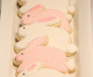 Cookies and bunny image