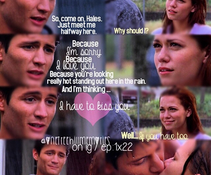 one tree hill, oth, and naley image