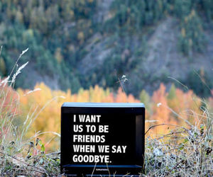 friends, text, and goodbye image