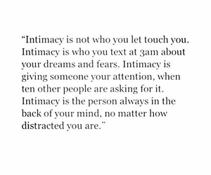 quote, love, and intimacy image