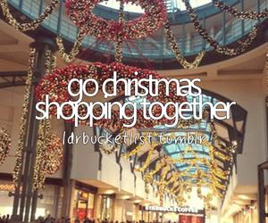 fun, christmas, and shopping image