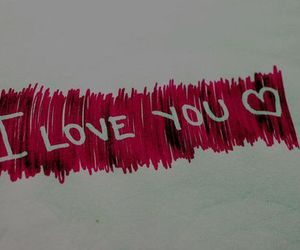 heart, I Love You, and love image