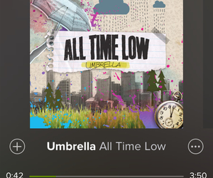 all time low, alternative, and life image