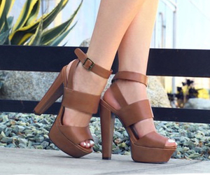 beauty, shoes, and straps image
