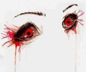 eyes, tokyo ghoul, and anime image