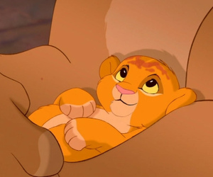 baby lion, king, and classic image