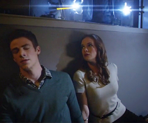 cw, the flash, and barry allen image