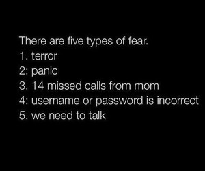call, fear, and funny image