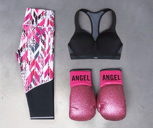 Victoria's Secret, gym, and angel image