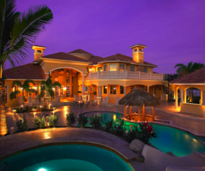 dream house and luxury image