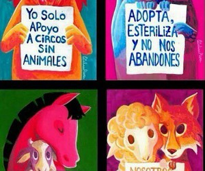 Animales, animals, and frases image