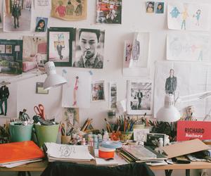 room, vintage, and art image