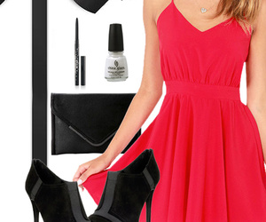 dress, fashion, and new years image