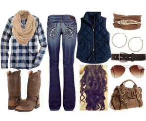 country, fashion, and outfits image