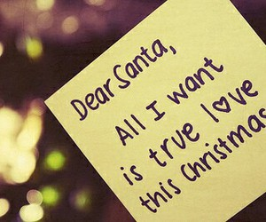 christmas, love, and santa image