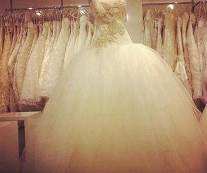 dreams, dress, and wedding image