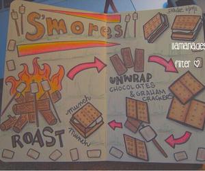 smores, food, and chocolate image