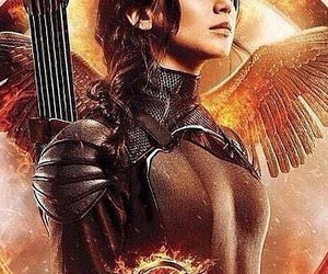 adventure, hunger games, and movie image