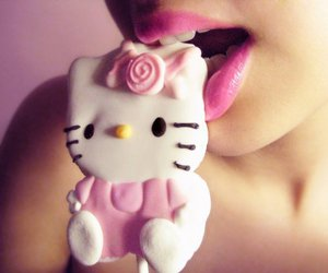 candy, hello kitty, and pink image