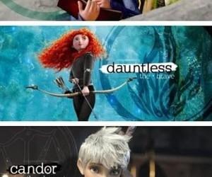 divergent, disney, and rapunzel image